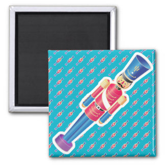 Iconic Tin Soldier Square Magnet