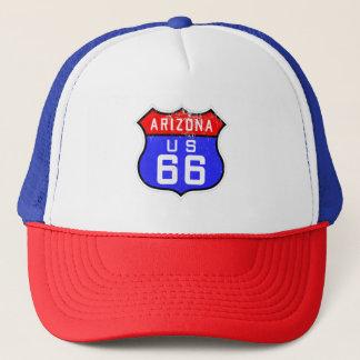Iconic Vintage Route 66 Arizona Trucker Hat