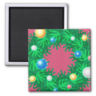 Iconic Wreath Refrigerator Magnet