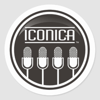 iCONICA Round Sticker