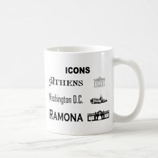 Icons-Athens-DC-Ramona Coffee Mug