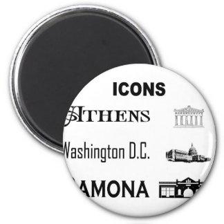 Icons-Athens-DC-Ramona Magnet