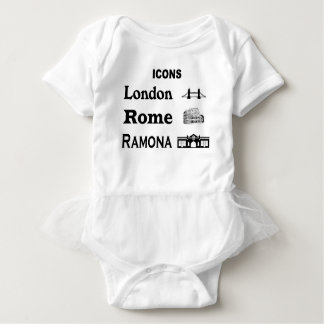 Icons-London-Rome-Ramona Baby Bodysuit