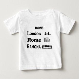 Icons-London-Rome-Ramona Baby T-Shirt