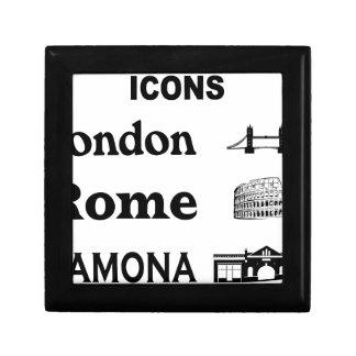 Icons-London-Rome-Ramona Gift Box