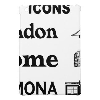 Icons-London-Rome-Ramona iPad Mini Covers