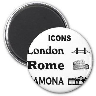 Icons-London-Rome-Ramona Magnet