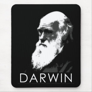 Icons of Science Darwin Mouse Pads