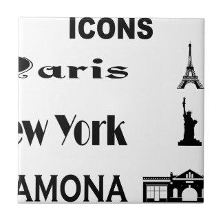 Icons-Paris-NewYork-Ramona Ceramic Tile