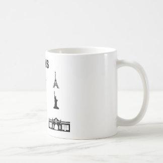 Icons-Paris-NewYork-Ramona Coffee Mug