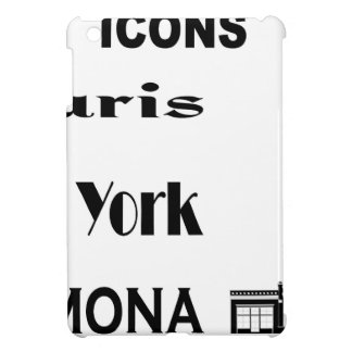 Icons-Paris-NewYork-Ramona iPad Mini Case