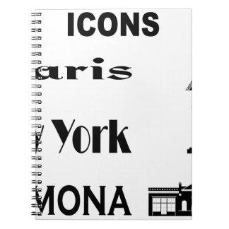 Icons-Paris-NewYork-Ramona Notebook