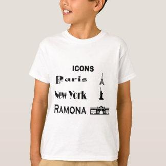 Icons-Paris-NewYork-Ramona T-Shirt