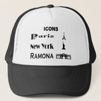 Icons-Paris-NewYork-Ramona Trucker Hat