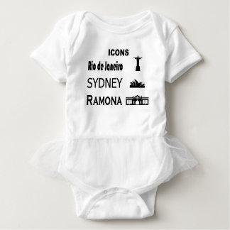 Icons-Rio-Sidney Baby Bodysuit