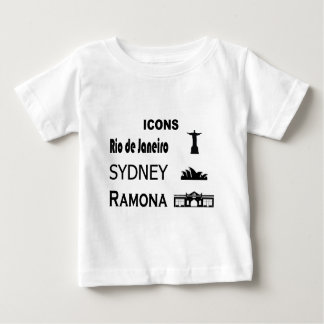 Icons-Rio-Sidney Baby T-Shirt