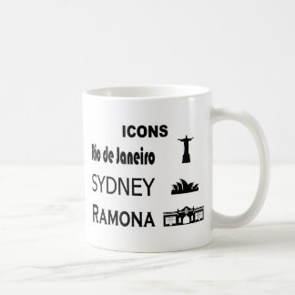 Icons-Rio-Sidney Coffee Mug