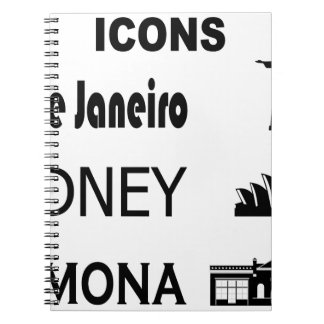 Icons-Rio-Sidney Notebooks