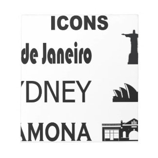 Icons-Rio-Sidney Notepad