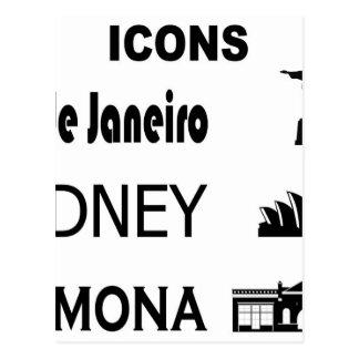 Icons-Rio-Sidney Postcard