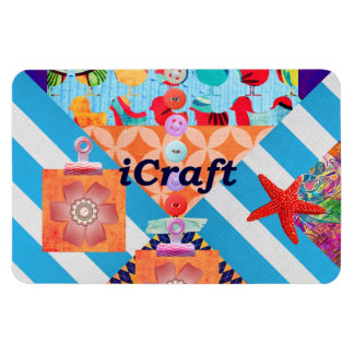 iCraft Scrapbooking and Buttons Craft Gifts Flexible Magnet