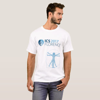 ICS 2017 Florence Men's T-Shirt, White T-Shirt