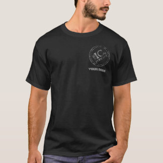 ICs - personalized black T-Shirt
