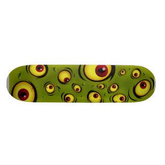 ICU Green Deck Skate Board Deck