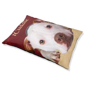 iCuddle Pitbull Dog Pet Bed