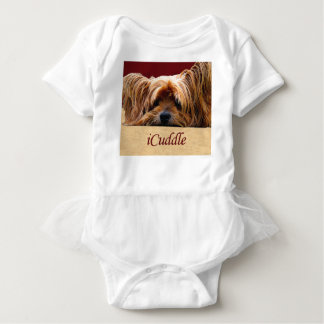 iCuddle Yorkshire Terrier Baby Bodysuit