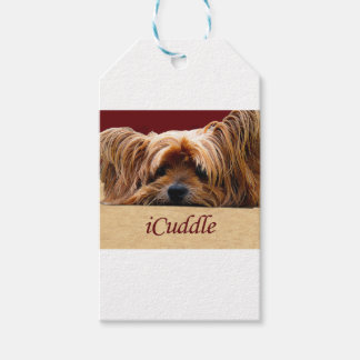 iCuddle Yorkshire Terrier Gift Tags