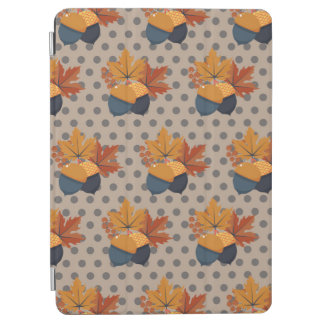 iCute Autumn Acorn Patterns iPad Air Cover