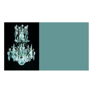 Icy Blue Chandelier Pack Of Standard Business Cards