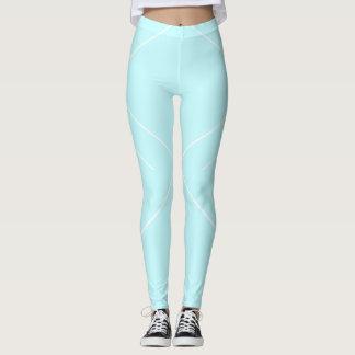 Icy Blue Diamond Leggings