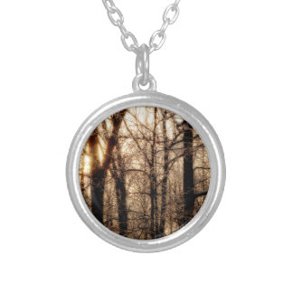 Icy Branches at Sunset Custom Jewelry