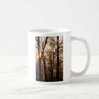 Icy Branches at Sunset Coffee Mug
