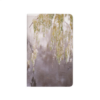 Icy Branches Winter Pond Lake Rustic Winter Scene Journal