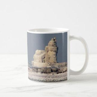 Icy Cleveland Lighthouse Mug
