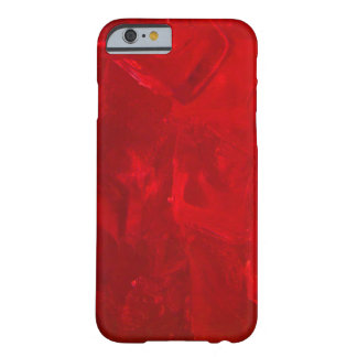 Icy Crimson Red iPhone 6 Case Barely There iPhone 6 Case