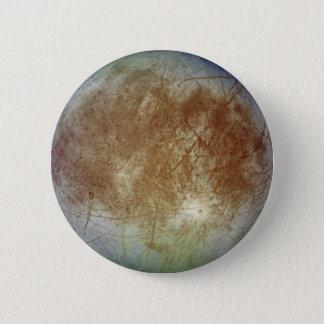 Icy Europa 6 Cm Round Badge