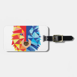Icy Hot Wolf Luggage Tag