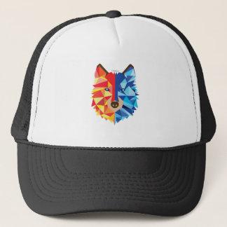 Icy Hot Wolf Trucker Hat