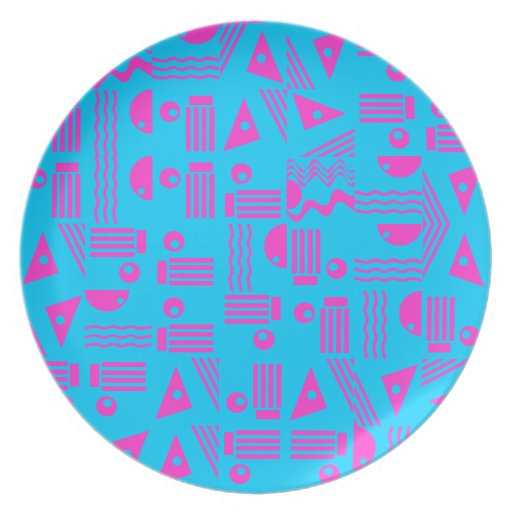 Icy Pink Dinner Plates