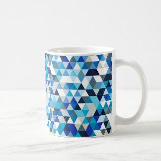 icy triangles basic white mug
