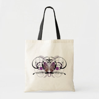 I'd be trouble without beads butterfly bag