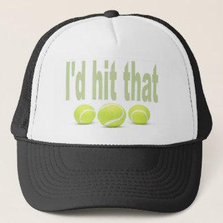 I'd hit that tennis trucker hat