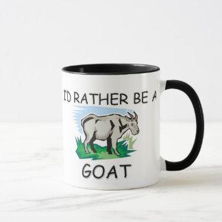 I'd Rather Be A Goat Mug