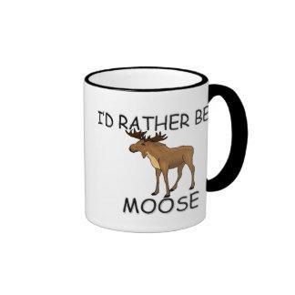I'd Rather Be A Moose Mugs