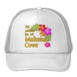I'd Rather be at Makena Cove Hawaii Cap