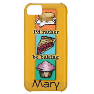 I'd Rather be Baking Pop Art Phone Case Cover For iPhone 5C